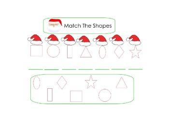 Christmas Basic Skills SMART notebook for Early Childhood
