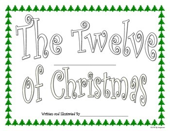 Christmas Book Writing Project For Students Based On The 1