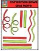 Christmas Bows and More {P4 Clips Trioriginals Digital Clip Art}