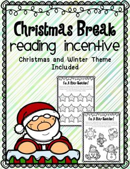 Christmas Break Reading Incentive
