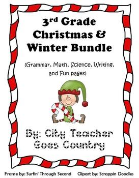 Christmas Bundle - 14 Printables & 2 Centers (Science, Mat