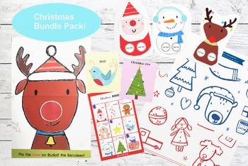 Christmas Bundle Activity Pack!