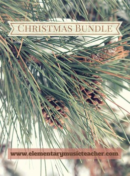 Christmas Songs Bundle: Video, 5 songs & activities!