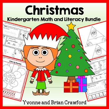 Christmas Bundle for Kindergarten Endless