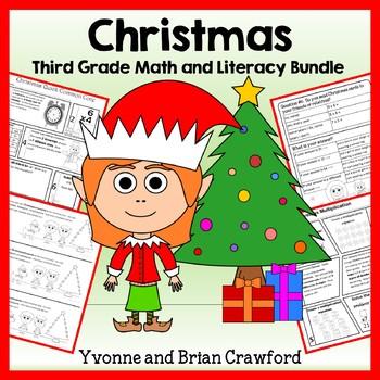 Christmas Bundle for Third Grade Endless