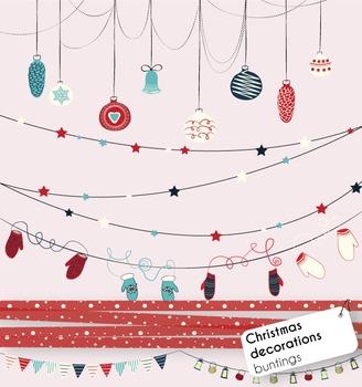{FREEBIE} Christmas Buntings