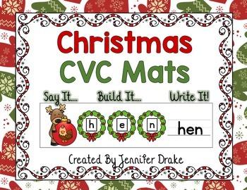 Christmas CVC Mats