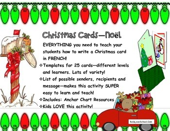 Christmas Cards--Noel!  Everything to make Christmas Cards