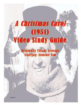 Christmas Carol/Scrooge (1951) Video Study Guide
