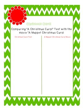 Christmas Carol vs Muppet Christmas Carol