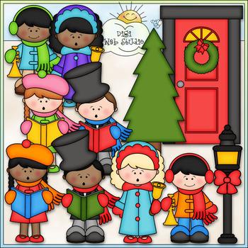 Christmas Caroling Clip Art - Christmas Clip Art - CU Clip