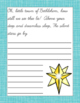 Christmas Carols Copywork and Handwriting Pages