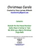 Christmas Carols with symbols
