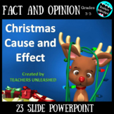 Christmas PowerPoint Lesson {Cause and Effect}