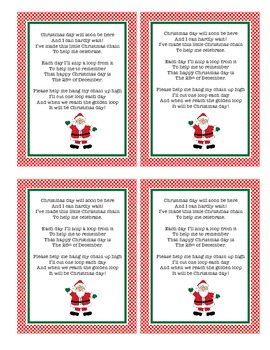 Christmas Chain Poem