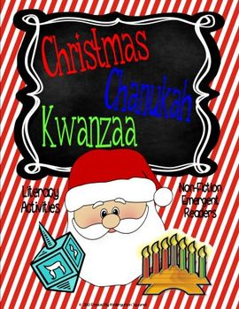 Christmas, Chanukah, and Kwanzaa: Literacy Activities and