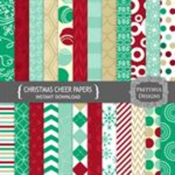 Christmas Cheer Paper Pack