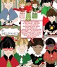 Christmas Children Clipart Bundle - color and b/w - commercial