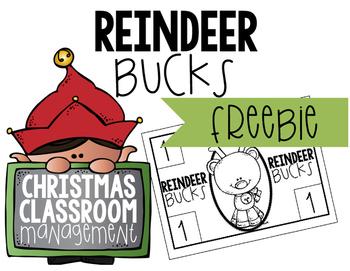 Christmas Classroom Management FREEBIE