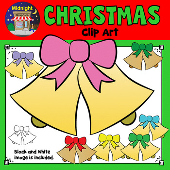 Christmas Clip Art - Christmas Bells