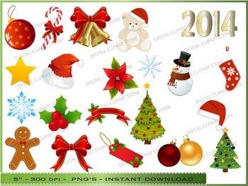 Christmas Clipart - Cute Xmas Clip Art
