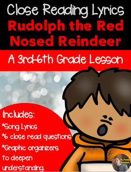 Christmas Close Read- Rudolph the Red Nosed Reindeer -{CC
