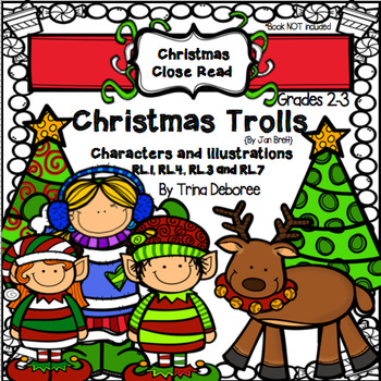 Christmas Close Read with Christmas Trolls