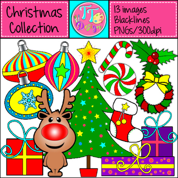 Christmas Collection Clip Art CU OK