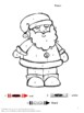 Color by Number Christmas Coloring Pages NO PREP Activitie