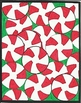 14 Page Christmas Color By Number - Candy Cane Holiday Sno