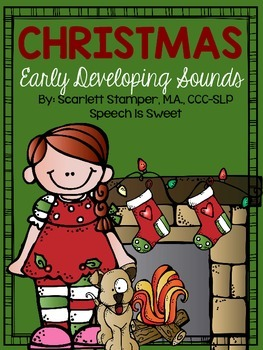 Christmas Articulation: Early Developing Sounds