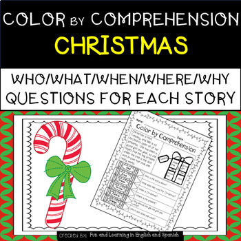 Christmas (Color by Comprehension Stories and Questions) -