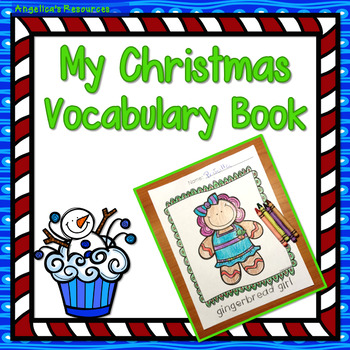 Christmas: My Christmas Vocabulary Book