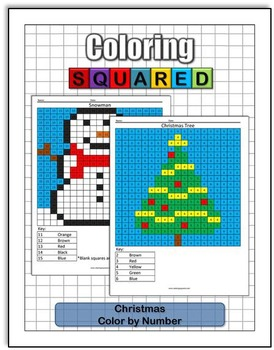 Christmas Coloring: Color by Number