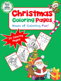 Christmas Coloring Pages - Christmas Coloring Activity
