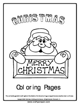Christmas Coloring book 56 pages