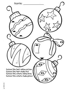 Christmas Colouring Page - Musical Symbols