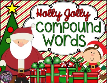 Christmas Compound Words (Interactive Notebook Page & Lite