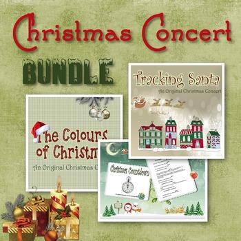 Christmas Concert Bundle - 3 Christmas Play Scripts For Yo