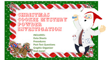 Christmas Cookie Mystery Powder Invesitgation