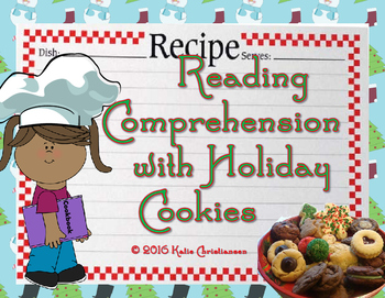 Christmas Cookies Reading Comprehension