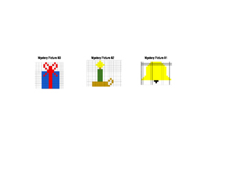 Christmas Coordinate Graphing 1 - Excel