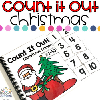 Christmas Count It Out Adapted Book