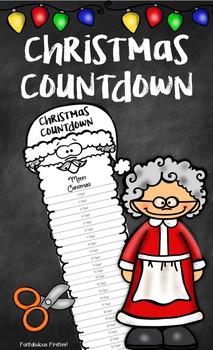 Christmas Countdown:  Trim Santa's Beard