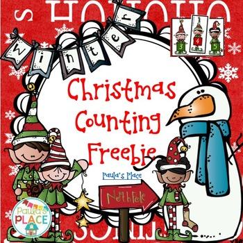 Christmas Counting Freebie