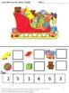 Christmas Cut and Paste Activities Kindergarten Math Addit