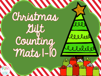 Christmas Counting Mats 1-10 (2 kinds!)