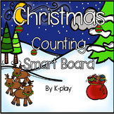 Christmas Counting Smart Board