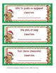 Christmas Coupon Book Gift from Teacher to Student
