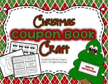Christmas Coupon Book and Craft